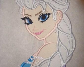 Elsa Iron on patch