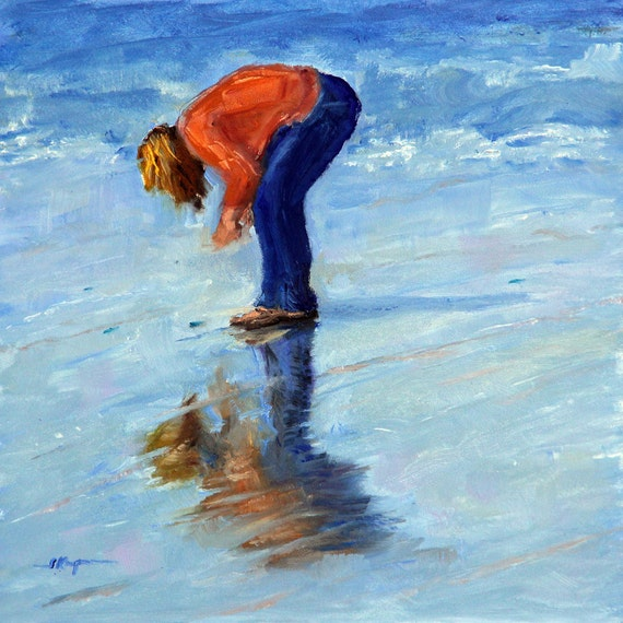 Beach Pick Up - Giclee