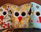 Little Owl Heat/Cold Packs, Rice Packs, Owls, Toddler Gift, Student Gift, Ladies Gift...Free Shipping