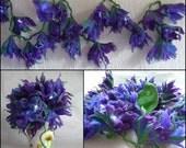 felted flower fariy lights, night light, LED lights, handmade, wool, felt, home decoration, Waldorf inspired, made to order