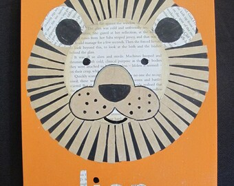 Lion Collage - original