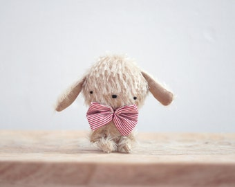 August little puppy plush - made to order