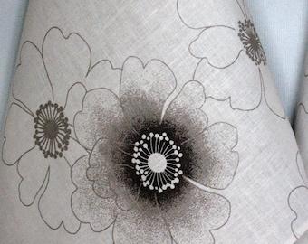Linen Cotton Dish Towels Flowers - Tea Towels set of 2