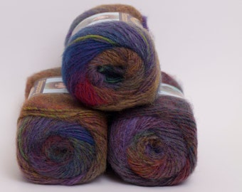 Amazing Wool and Acrylic Yarn from Lion Brand  Wildflowers