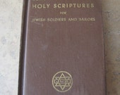 WW2 Issue Holy Scriptures For Jewish Soldiers And Sailors