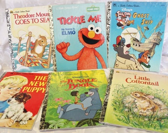 Little Golden Books Childrens Reading Books