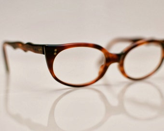 1960s Tortoise Shell Cateye Glasses – Star Power