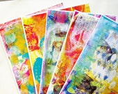 Gelli Print Packs 2 -  Art Journal & Collage Papers