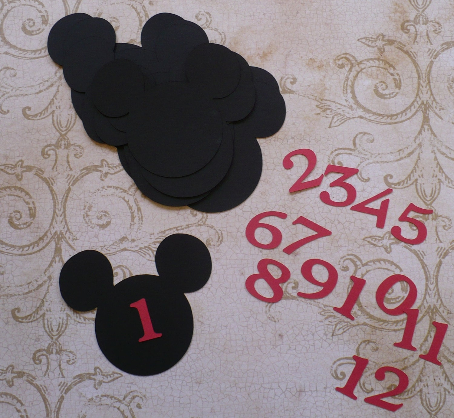 mickey mouse cut s - photo #12
