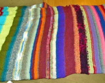 Scrap Blanket / Lap Throw
