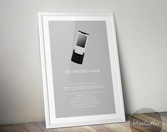 The Wrong Mans poster (Made to order)