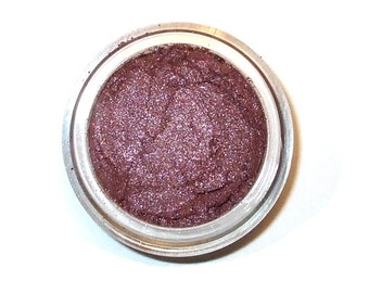 Mineral Eye Shadow  PLUMTASTIC - Metallic Plum - 3 gram or 5 gram