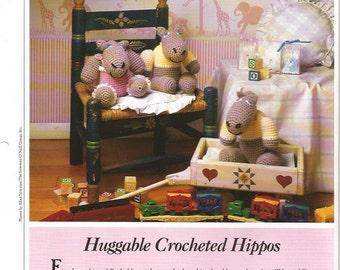 Crochet Pattern Crochet Stuffed Toys Pattern Crochet Hippo Pattern