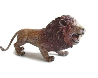 Vintage Toy Lion Animal