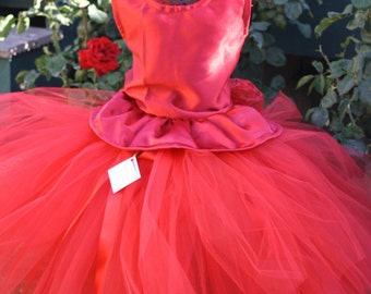 "Let's Tango"" red lace dress Christmas, flower girls dress,valentine,weddings,pageant dress,junior bridesmaid dress available in many colors"