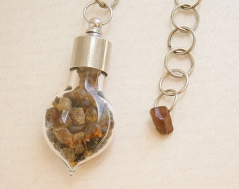 Brown Tourmaline Dowsing Pendulum - Stone of Self Healing, Earth Element, Spiritual Grounding, Taurus Power Stone
