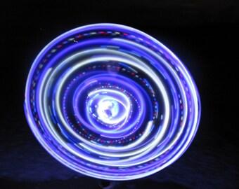 Purple Rain LED hula hoop