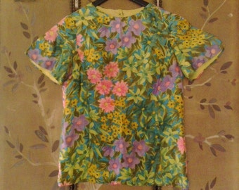 60s flower power Alex Colman blouse