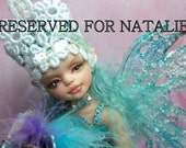 OOAK art doll fantasy child doll polymer clay sculpture  free shipping
