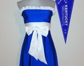 Gameday dress Kentucky Blue Game day dress. Tailgate UK style