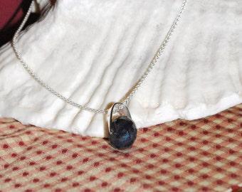 33-Carat Sapphire & Sterling Silver Custom-Designed Necklace
