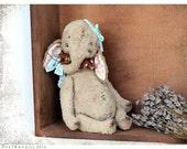 Artist Teddy Elefant Slo 8 inches OOAK