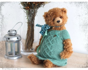 Artist Teddy Bear Bettina OOAK 15 inch