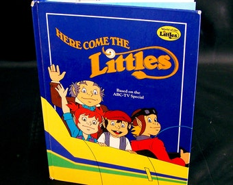 Vintage 80s Children's Book - Here Come the Littles - 1984