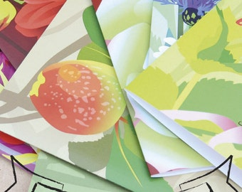 Wholesale Pack of 20 cards - Mixed packs of floral designs