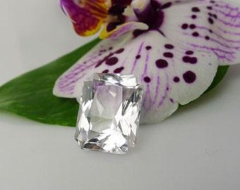 Loose Emerald Cut Gemstone, Emerald Cut, Loose Gemstone, Herkimer Diamond, Natural Gemstone