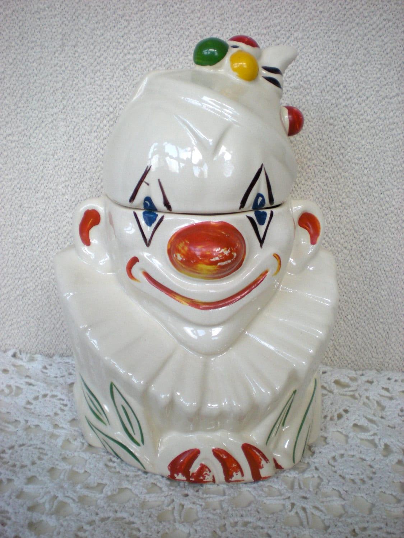 Vintage Cookie Jars Mccoy Clown Cookie Jar The Real Mccoy
