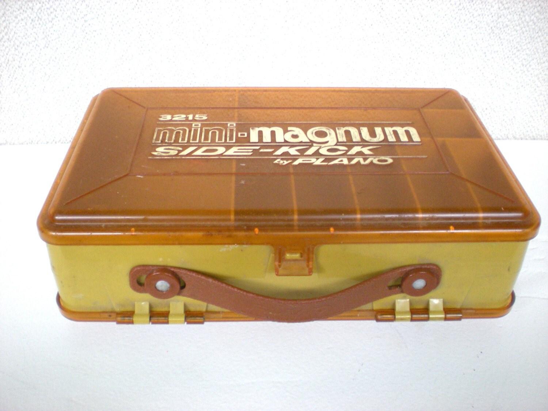 Plano tackle box fishing lure kit mini magnum side kick in for Plano fishing box