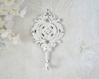Ornate Cast iron Hook, Coat hook, Towel Hook, Key Hook, Wall hook