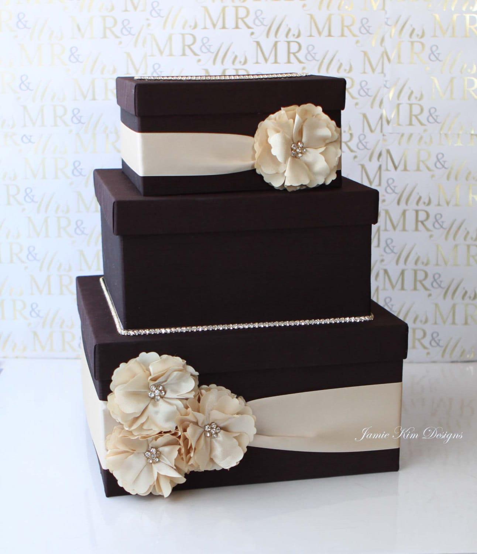 Wedding Gift Card Mailbox : Wedding Card Box Money Box Gift Card Holder Custom Made to