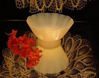 AMERICAN SWEETHEART, MONAX,  Macbeth Evans  Depression glass , Fluted Edge. Etched Panels, Vintage, Antique Candy, Nut Dish