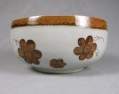 Veracruz Serving Bowl, Ken Edwards, El Palomar, rare, 1960s, flower pattern