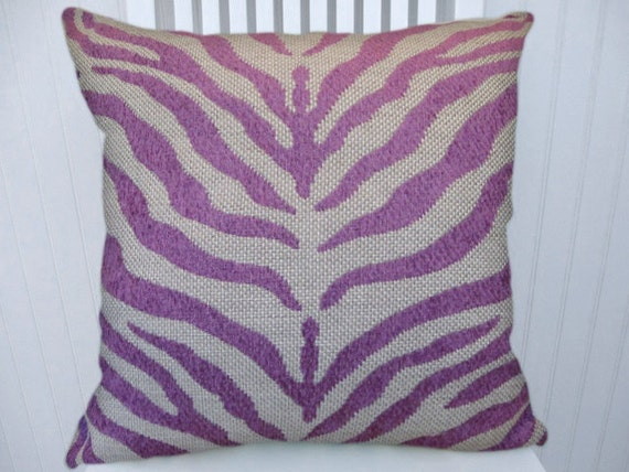 Decorative Pillow Lilac : Lilac Decorative Pillow Cover 18x18 or 20x20 or 22x22Duralee