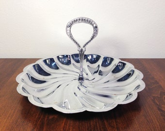 Vintage CAKE STAND Silver Dessert Stand Cake Stand Dessert Stand Cake Plate Jewelry Display