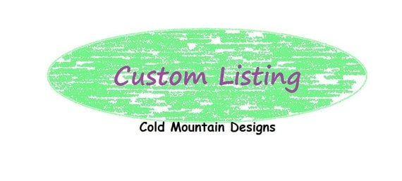 Custom Listing for Tim With FREE SHIPPING