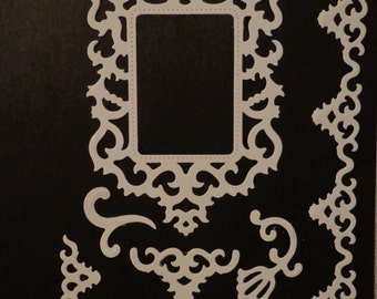 Antique Frame and Accents die cuts
