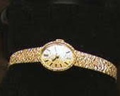 Bucherer 18k yellow gold wristwatch