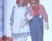 Simplicity Costume Pattern No 4004 UNCUT 2006 Adult Sizes XS to XL Raggedy Ann & Andy Halloween Men Women