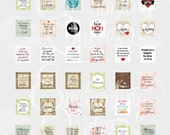 Mother's Day Scrabble Tile Collage Sheet Download