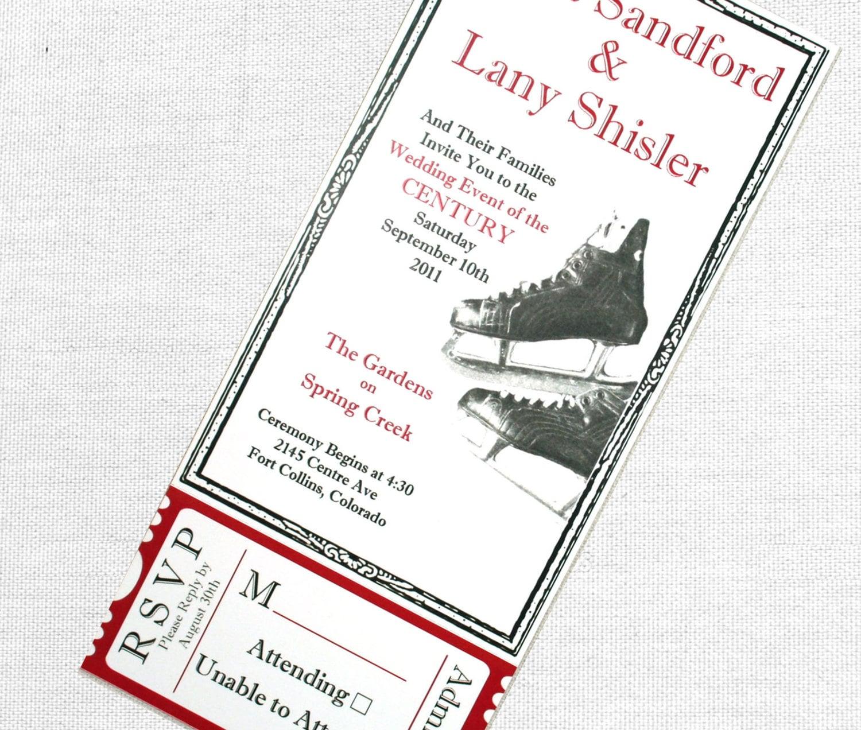 Fancy Hockey Themed Wedding Inspiration - The Wedding Ideas ...