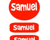 Clothing  Labels-Perfect for Camp-Perfect for Lunch Boxes -Back to School