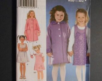 McCalls 9928,  Jumper, coat,  size 5, 6, 7, 8