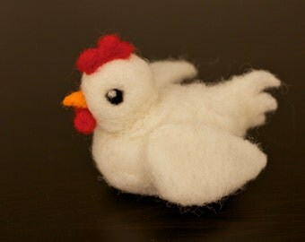 Needle Felted Chicken