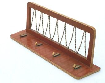Mid century Vnitage Wooden Coat Rack - 60s