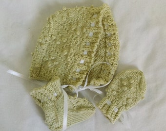 Darling Layette (PDF): Baby knitting patterns