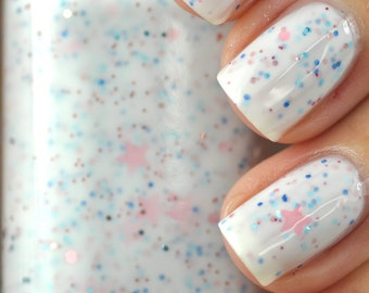 Snow Sprinkles White Nail Polish 15ml (.5oz)